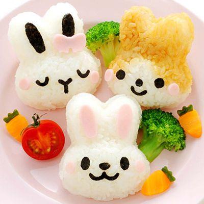 兔兔造型米飯模具組