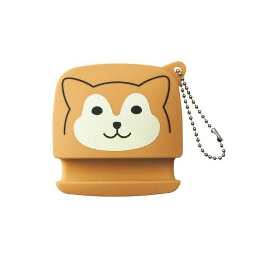 日本文具 LIHIT - 2way耳機收納+手機架-柴犬