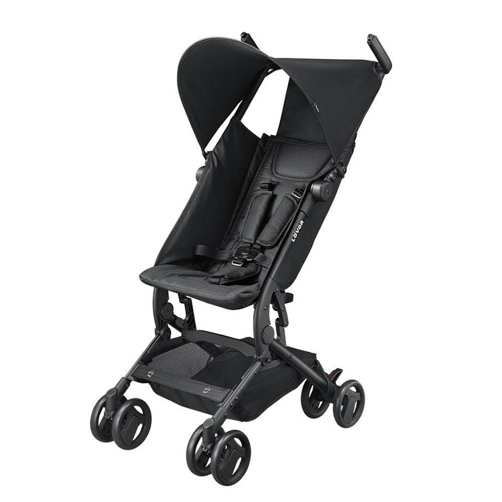 LOVON - CUBIE 口袋型手推嬰幼兒車-可可黑