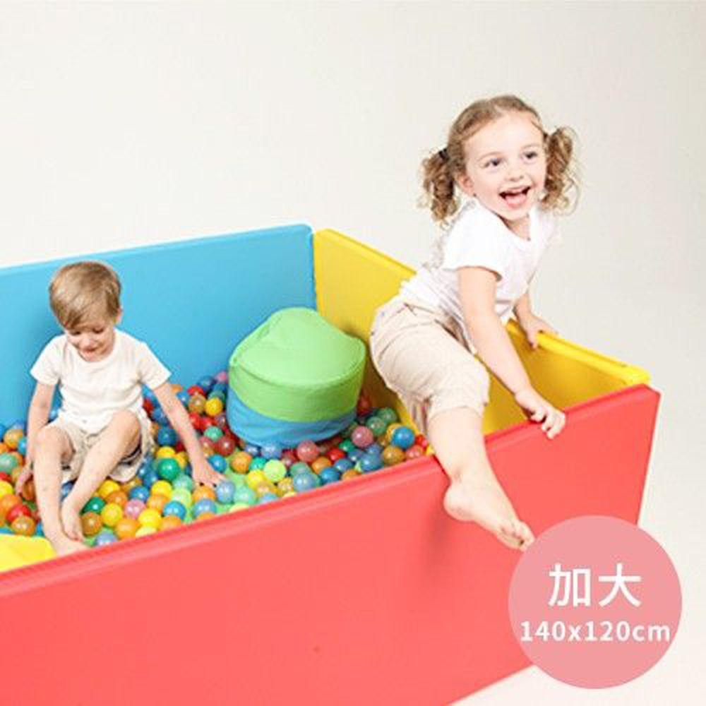 韓國 Foldaway - 安全遊戲城堡圍欄-加大款-Rainbow彩虹森林 (140x120cm)