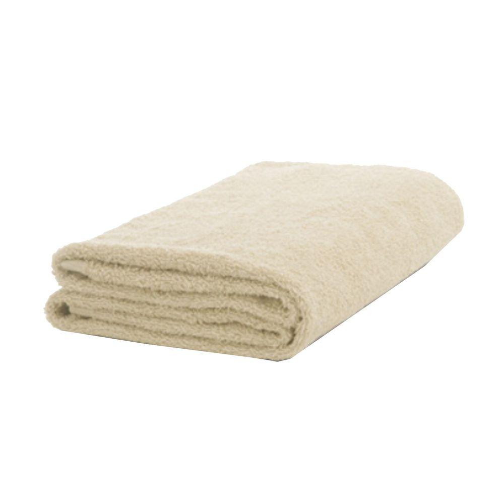 日本桃雪 - 精梳棉飯店浴巾-褐米 (60x130cm)