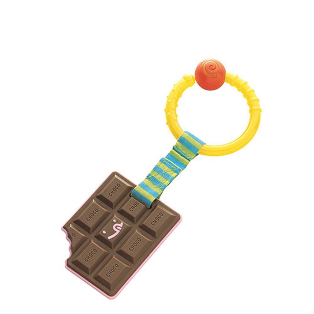 日本 Toyroyal 樂雅 - 可消毒掛件-巧克力