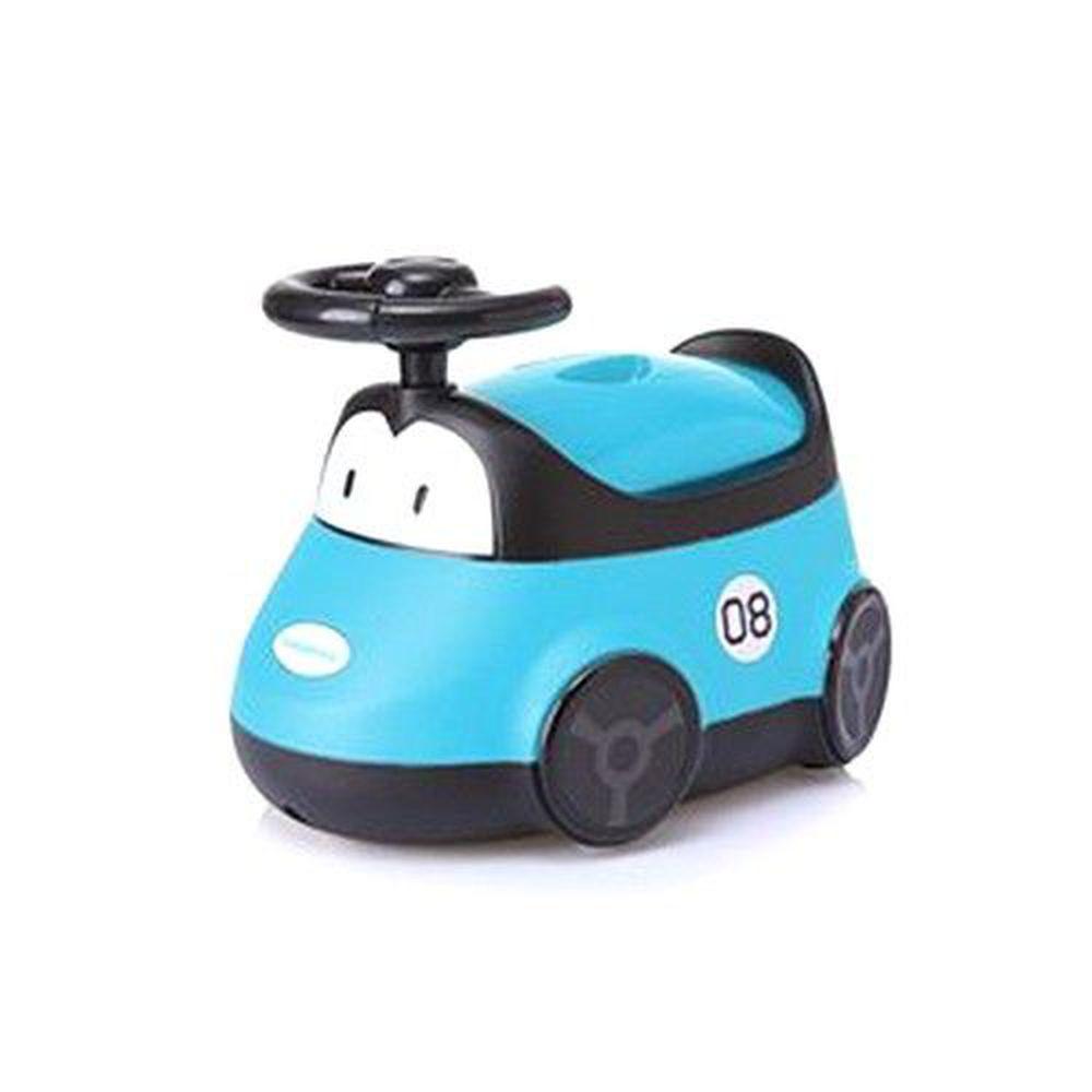 babyhood - 小汽車座便器-藍色