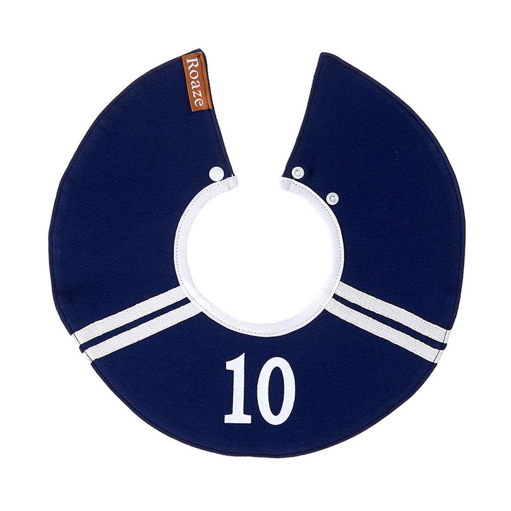 柔仕 - 純真款圍兜-10號球員(藍)