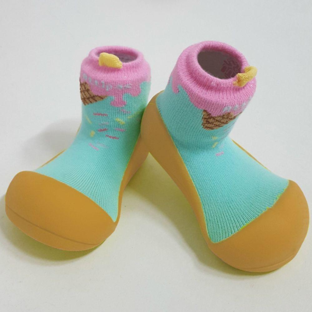 韓國 Attipas - 襪型學步鞋-冰淇淋甜桶