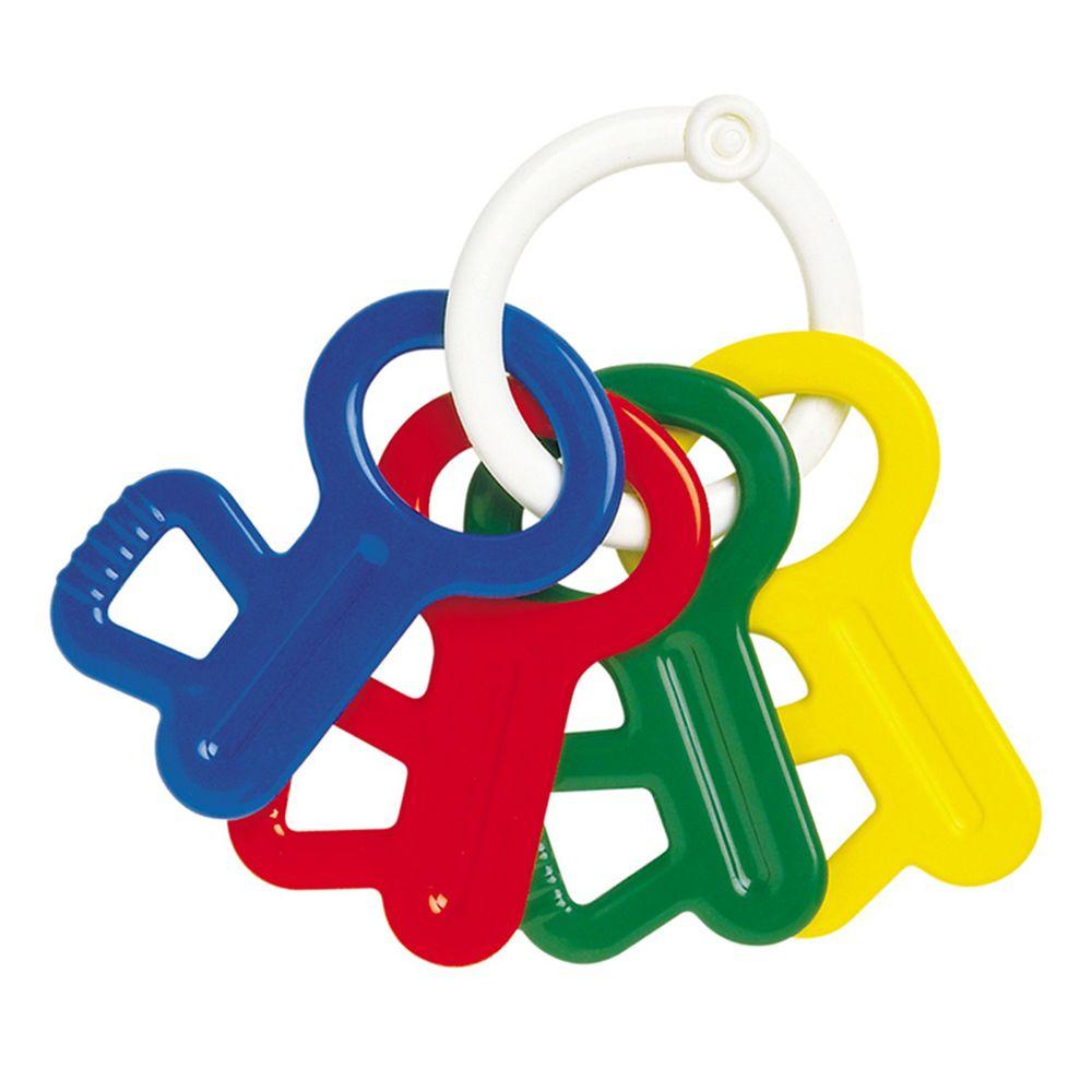 akachan honpo - 鑰匙形狀搖鈴固齒器