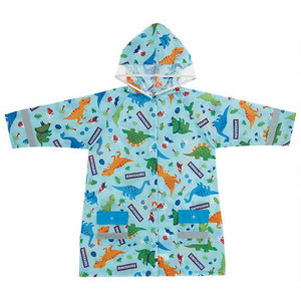 日本 SKATER 代購 - 兒童雨衣(附安全反光貼條)-侏羅紀世界 (110~125cm通用)