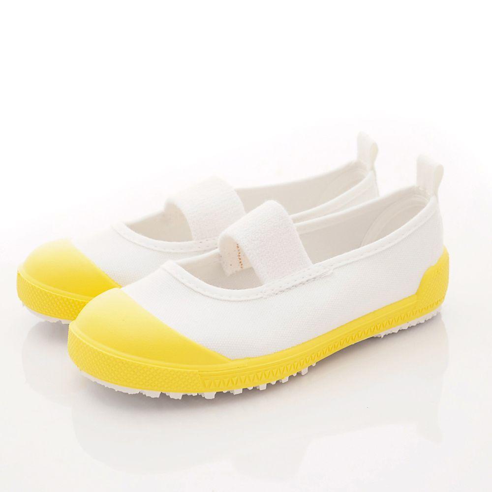 Moonstar日本月星 - 機能童鞋-日本製鐵氟龍室內鞋(中小童段)-黃