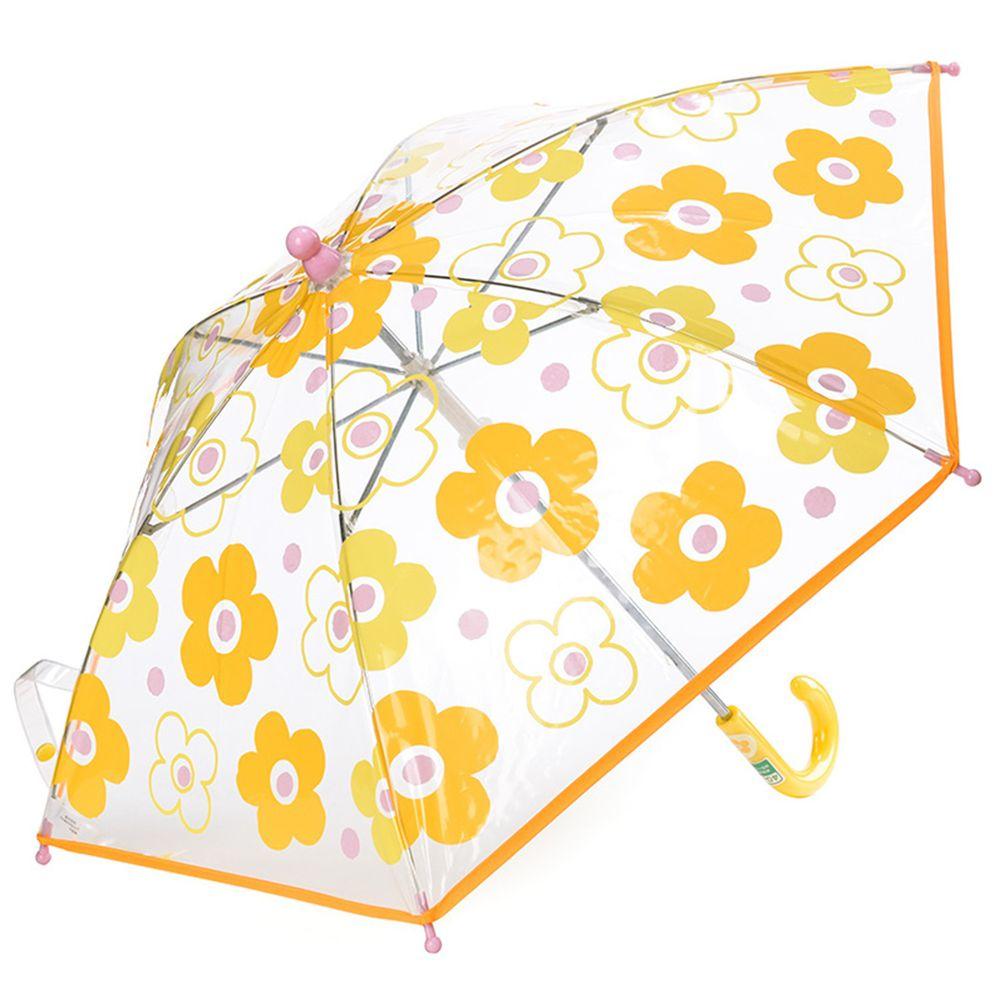 akachan honpo - 塑膠傘-小花朵-黃色 (45cm)
