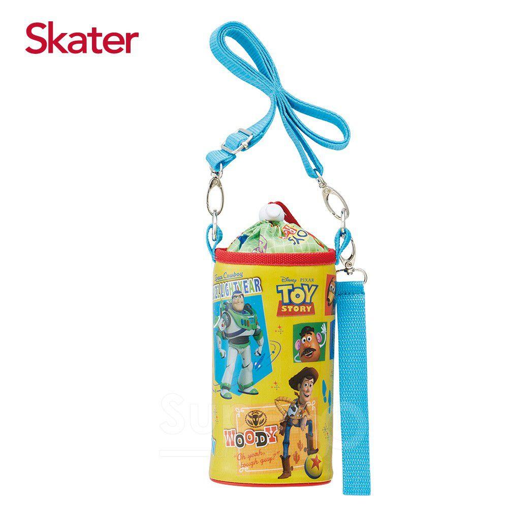 日本 SKATER - 可調式水壺袋-ToyStory