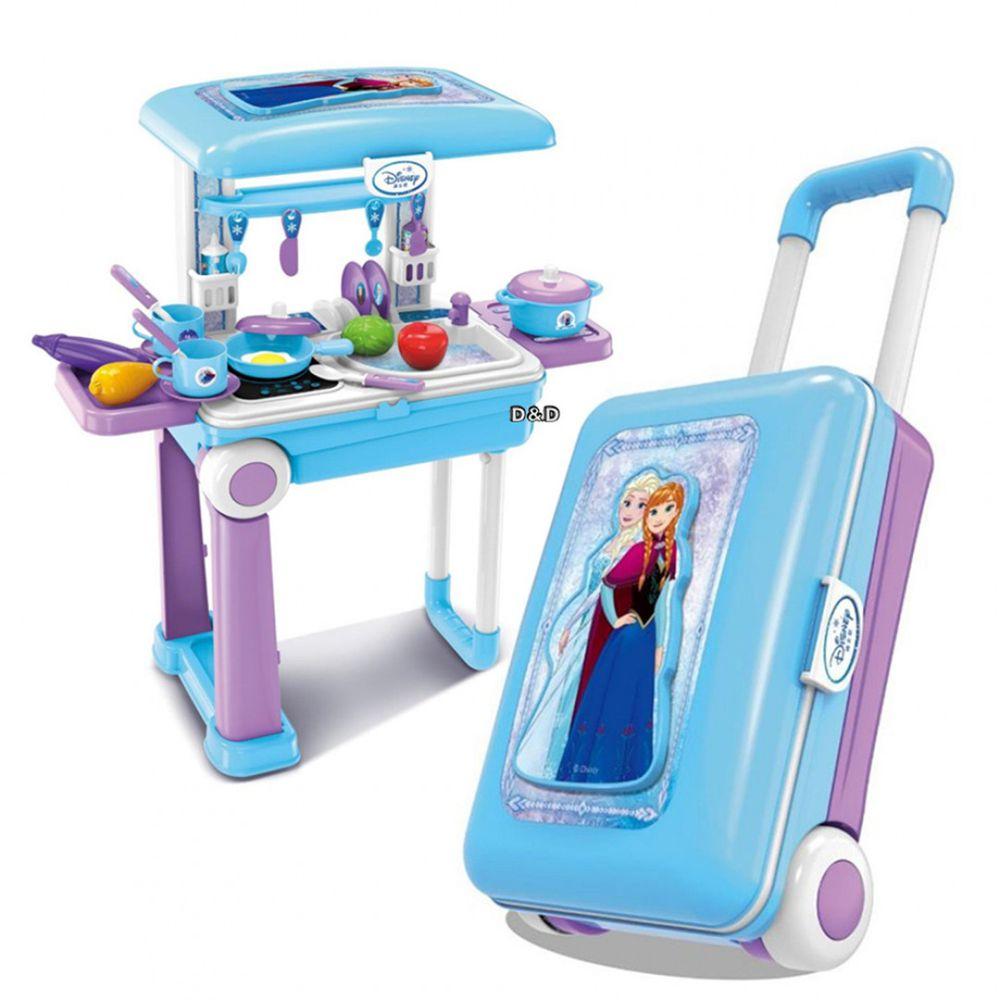 Disney 迪士尼 - 《 Disney 迪士尼 》冰雪奇緣廚房旅行箱