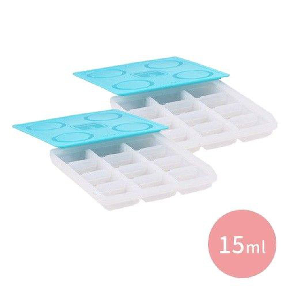 2angels - 矽膠副食品製冰盒-15ml 兩入組合