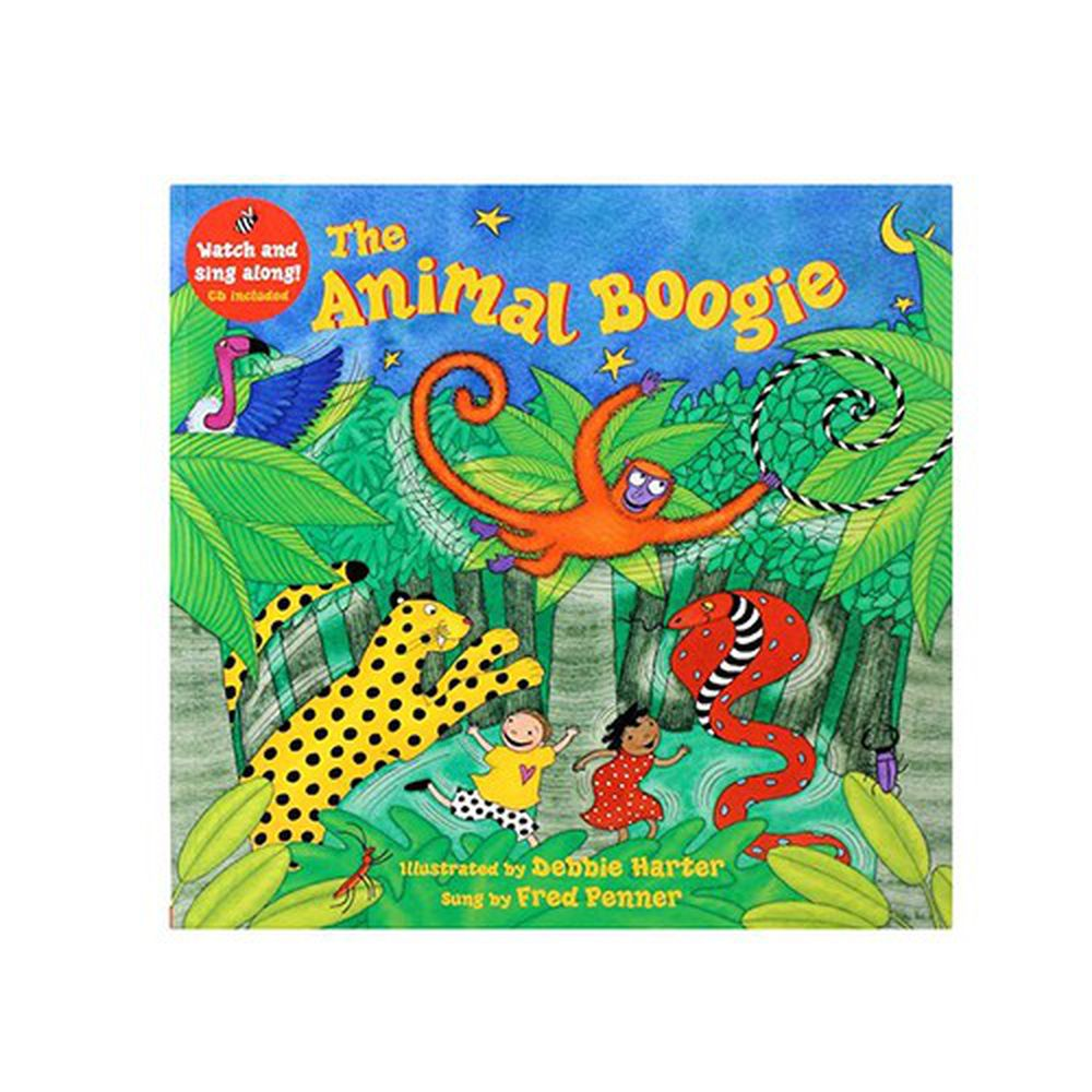 有聲書-ANIMAL BOOGIE/BK+VCD