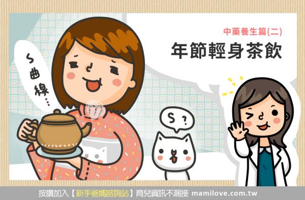 中藥養生篇(二)年節輕身茶飲