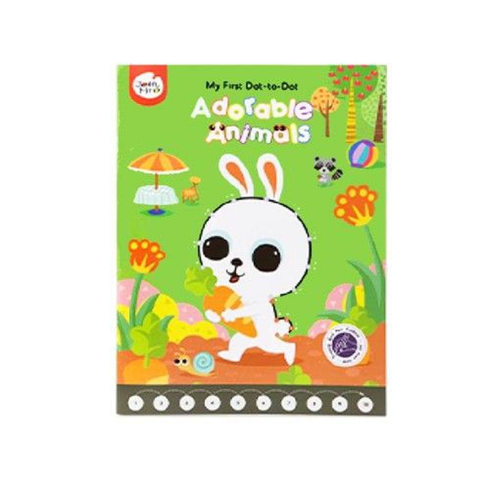 JoanMiro - 兒童連點畫-可愛動物