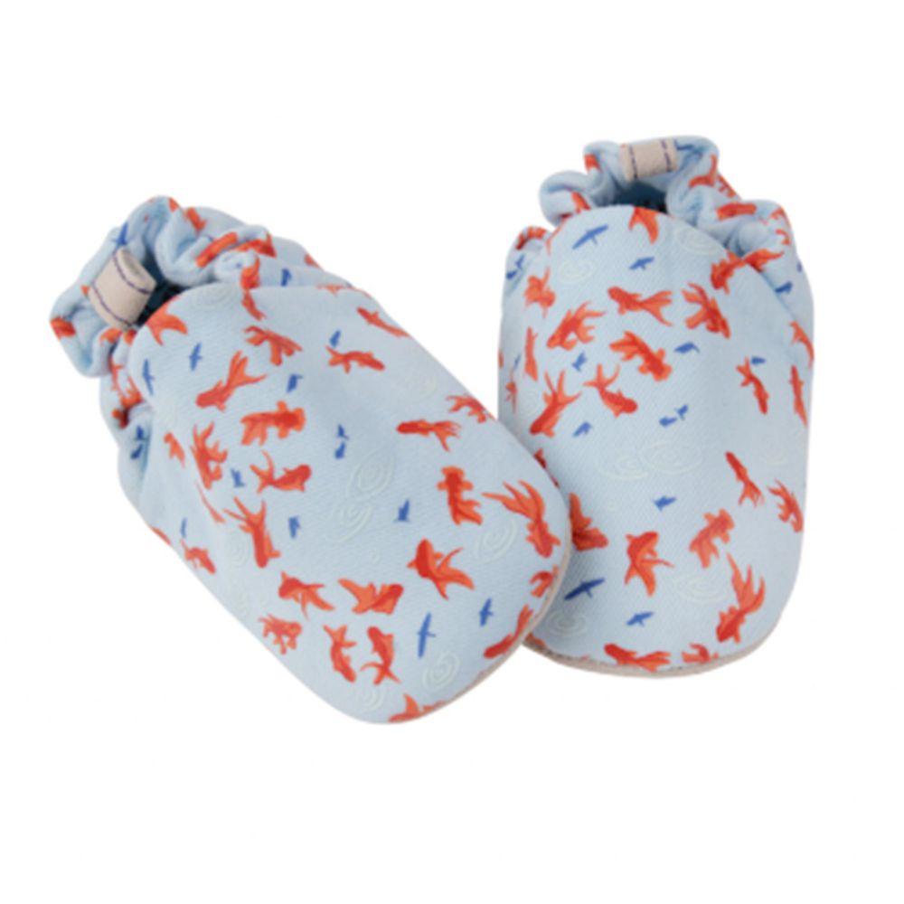 英國 Poconido - 寶寶手工鞋/學步鞋-小金魚