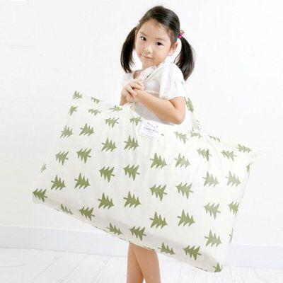 防水睡袋收納袋-聖誕樹-綠