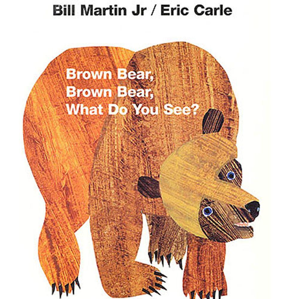 BROWN BEAR WHAT DO YOU SEE-艾瑞卡爾幼兒硬頁書-彩色 (12.5×17.5cm/硬頁/彩色/26頁)