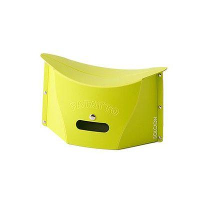 一公分超薄折疊椅-綠色 (S)