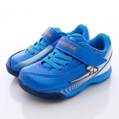 競速機能童鞋-閃耀光速足球系利(中童)-藍