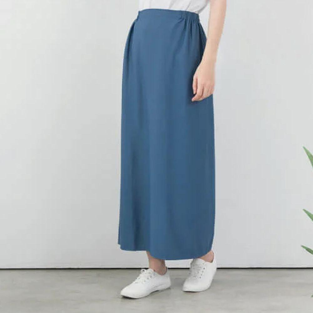 貝柔 Peilou - 3M防曬遮陽裙-素色-灰藍色 (FREE SIZE)