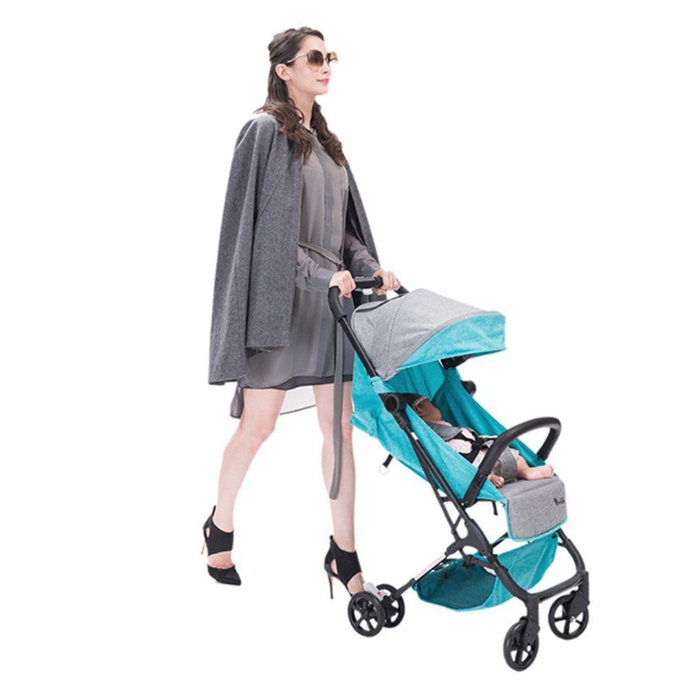 YODA - 超輕量手提登機嬰兒推車-優雅綠