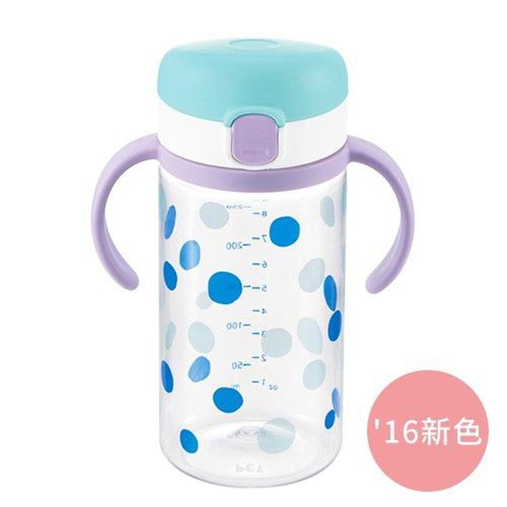 日本 Richell 利其爾 - 第三代 LC 兒童雙握把直飲杯兒童水壺-普普風-320ml