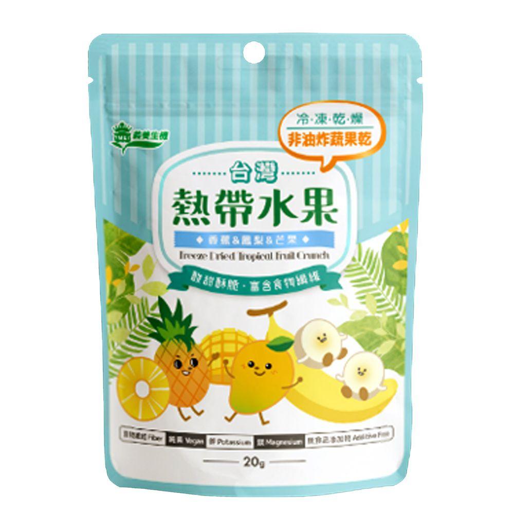 義美生機 - 台灣熱帶水果-20g/袋