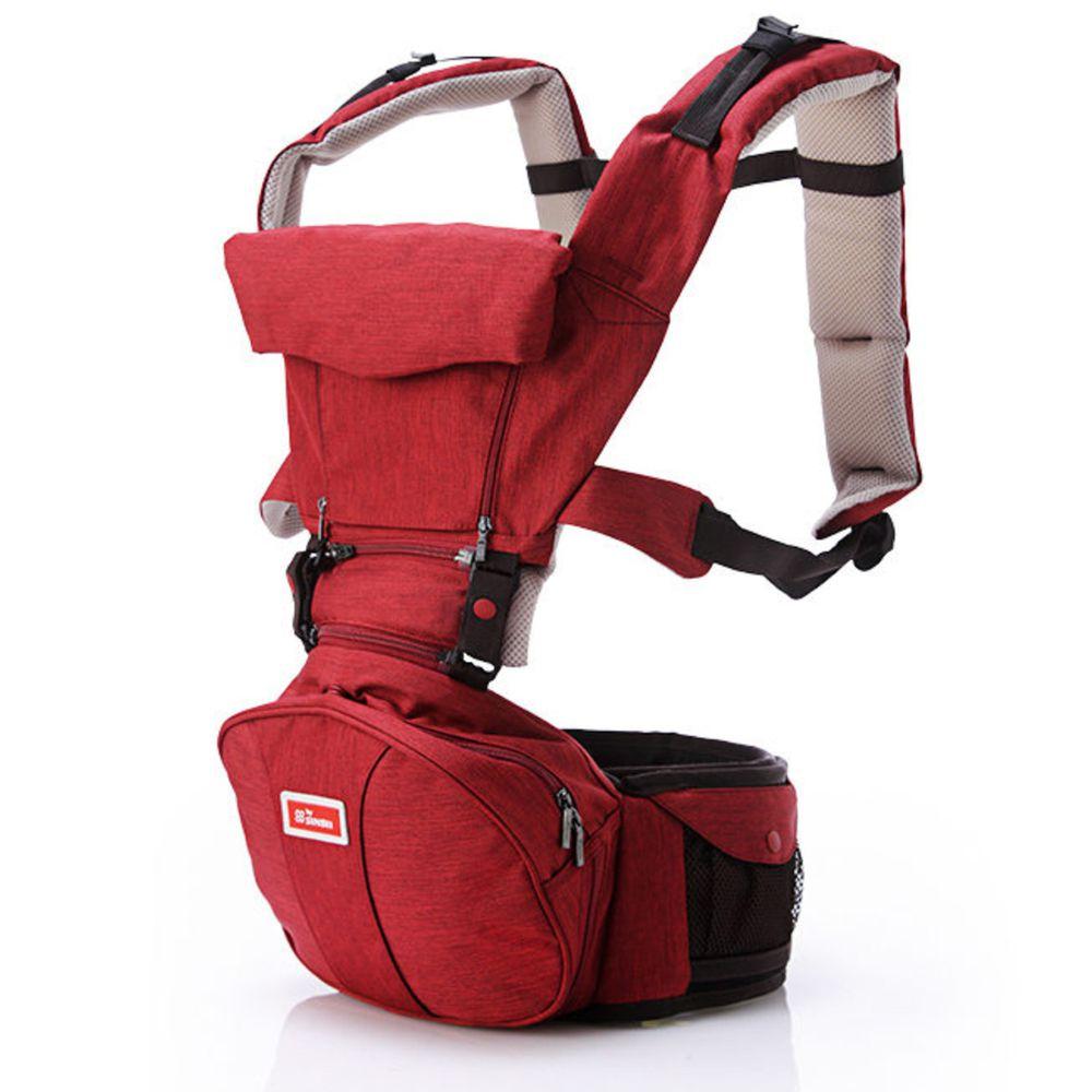 韓國sinbii - EZbag 2.0 全階段嬰兒背帶-佛朗紅