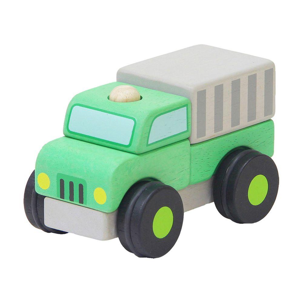 台灣 Mentari - 立體積木資源回收車
