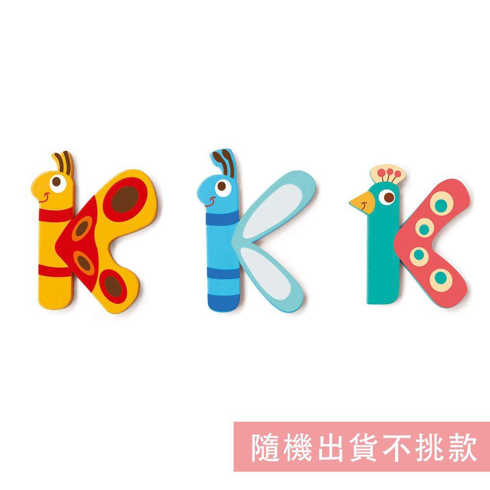 比利時 Scratch - 動物造型字母K-隨機出貨不挑款