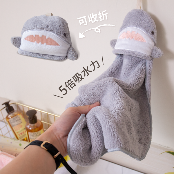 超強吸水力!日本超萌動物擦手巾 #全團3件9折