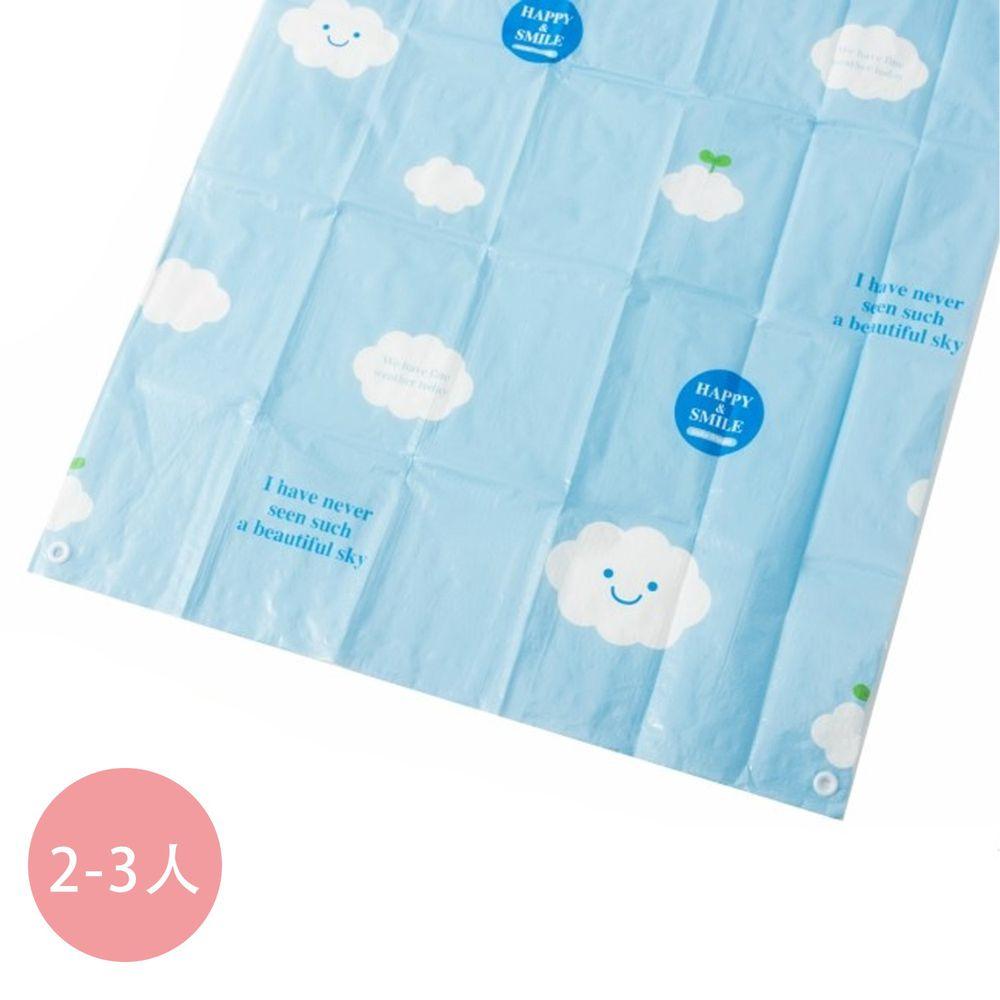 日本代購 - 輕薄防水野餐墊(附地釘*4) (2-3人)-藍天白雲 (90*180cm)