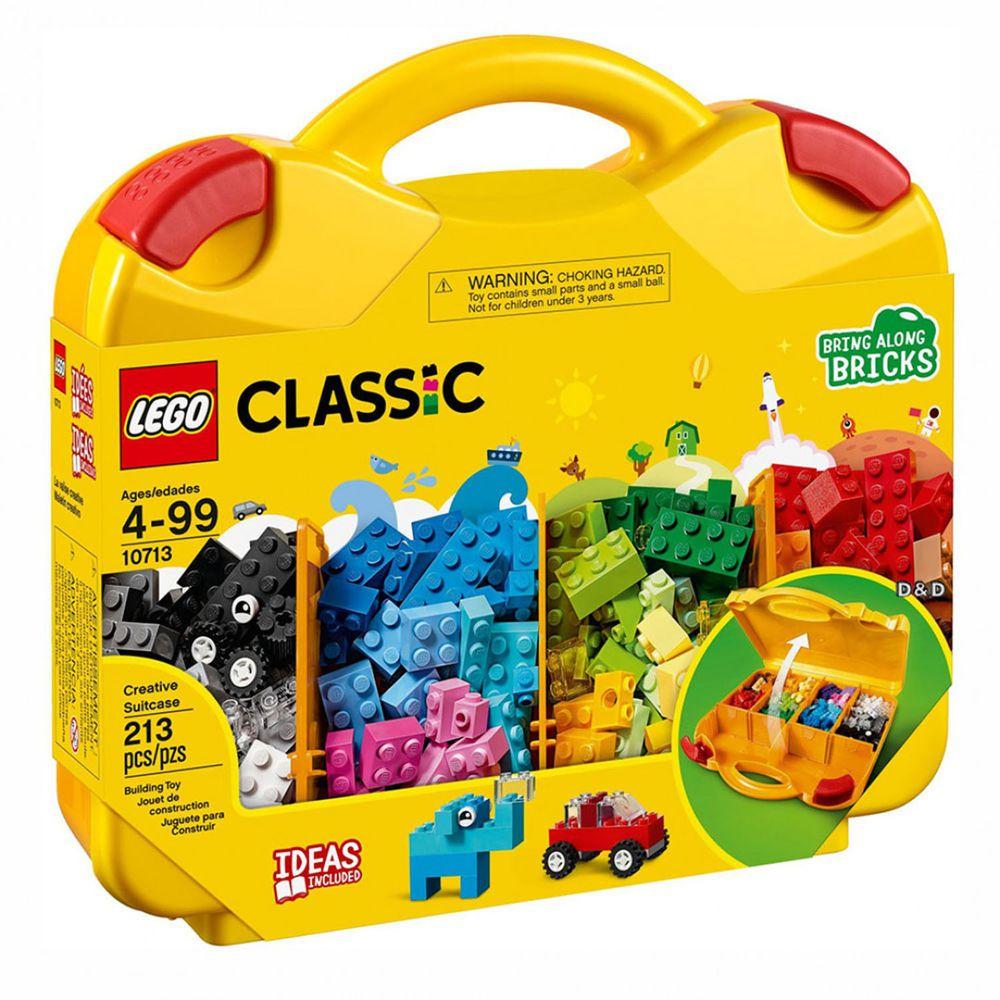 樂高 LEGO - 樂高 Classic 經典基本顆粒系列 - 創意手提箱 10713-213pcs