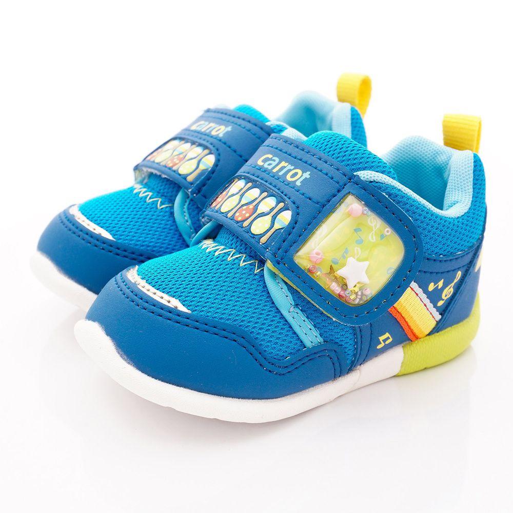 Moonstar日本月星 - 日本月星機能童鞋-3E寬楦玩耍款(寶寶段)-藍