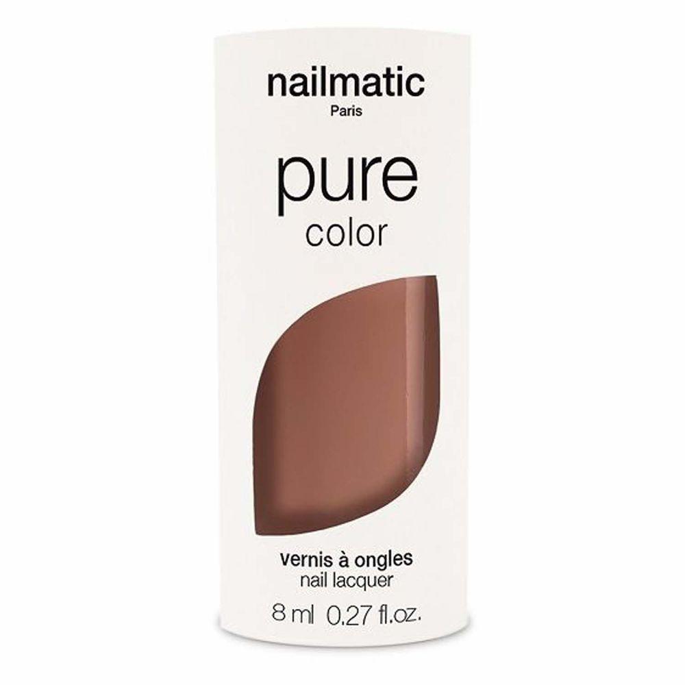 Nailmatic - Nailmatic 純色生物基經典指甲油-COUMBA-榛果褐-8ml