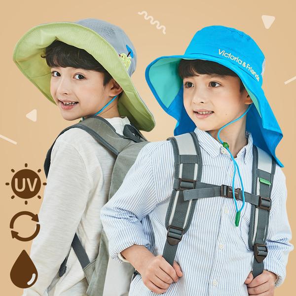 夏日防曬大作戰!UPF50+ 軟鋼絲遮陽帽|韓國Victoria&Friends