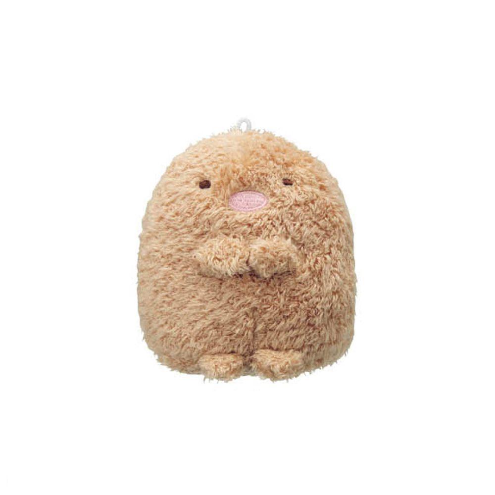 日本千趣會 - 角落生物 除臭除濕玩偶-炸豬排-咖 (約6~7cm高)