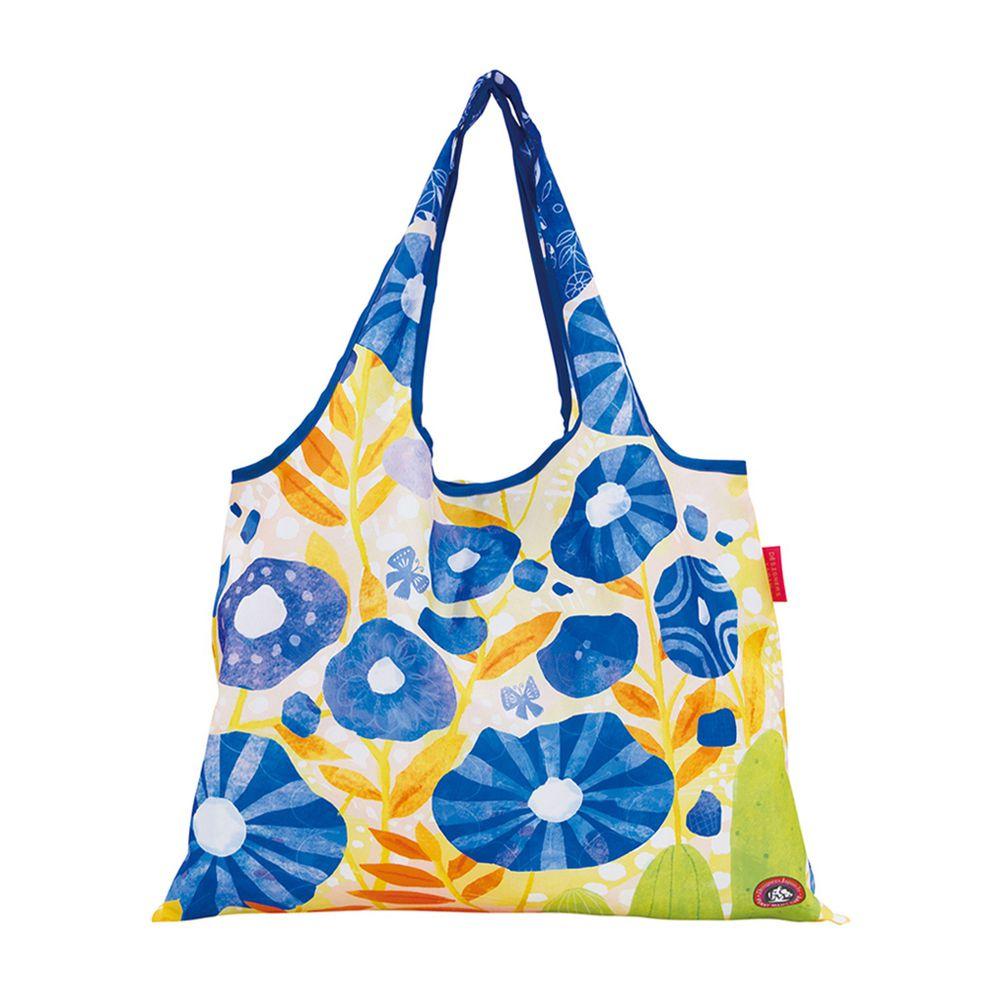 日本 Prairie Dog - 設計包-藍色花朵