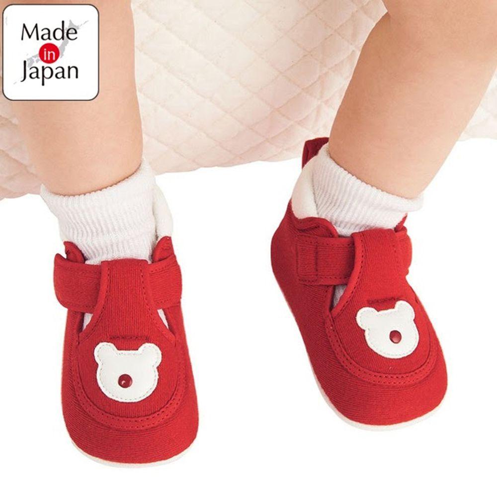 akachan honpo - 學步鞋-熊-紅色