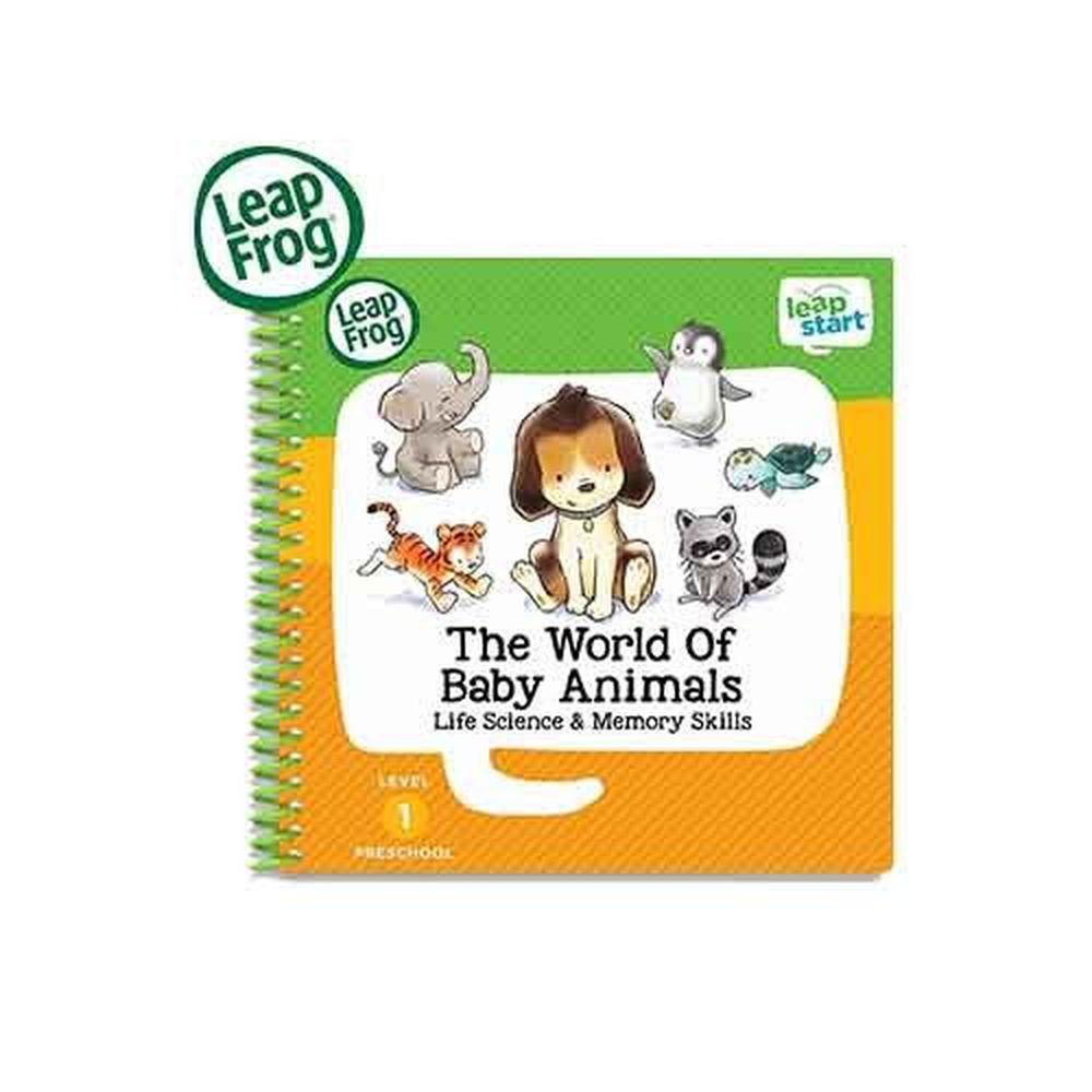 LeapFrog美國跳跳蛙 - LeapStart Jr. Books: 幼兒9-寶貝動物世界