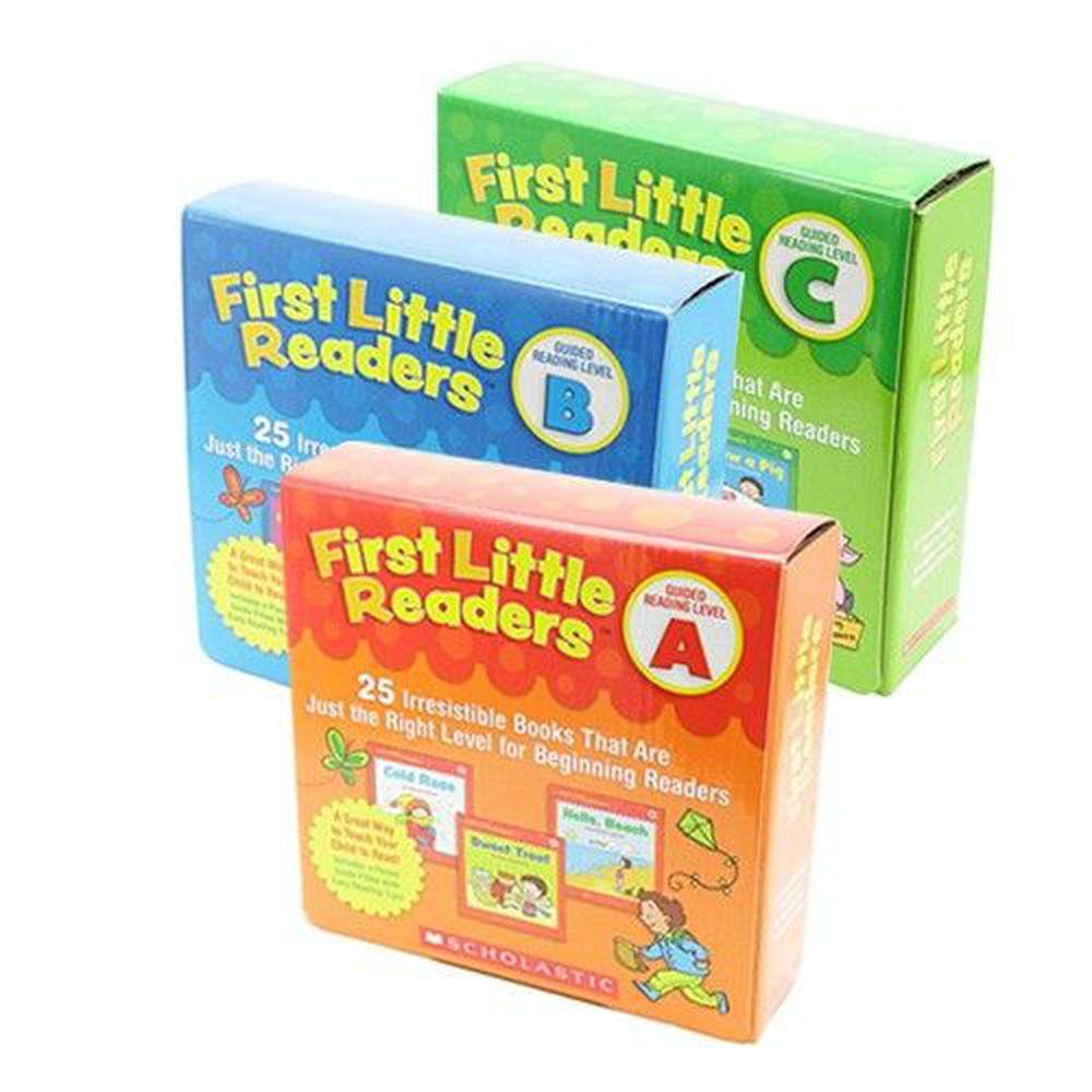 Scholastic - 【超值合購】我的第一套小小閱讀文庫First Little Readers Level A+B+C-三盒
