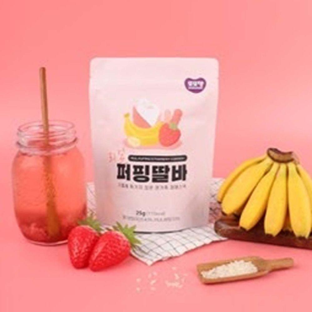韓國DDODDOMAM - 米果-草莓香蕉