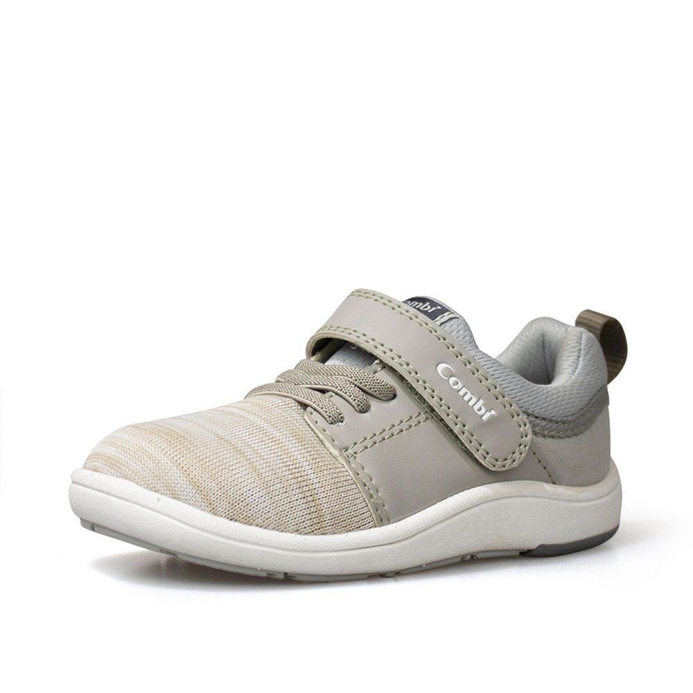 日本 Combi - 機能童鞋/學步鞋-NICEWALK 醫學級成長機能鞋-灰-A03
