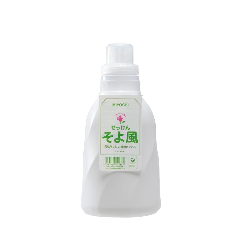 日本 MIYOSHI 無添加 - 微風洗衣精-1.1L (有效期限到: 2022/8, 2022/10)