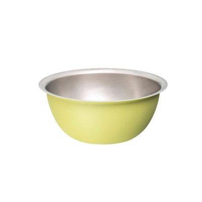 kobachi日本製不鏽鋼碗S-萊姆黃