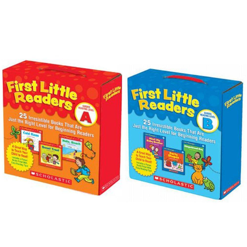 Scholastic - 【超值購】我的第一套小小閱讀文庫First Little Readers Level A+B-2盒