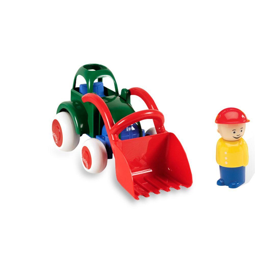瑞典Viking toys - Jumbo搬沙迪哥車(含1隻人偶)-28cm