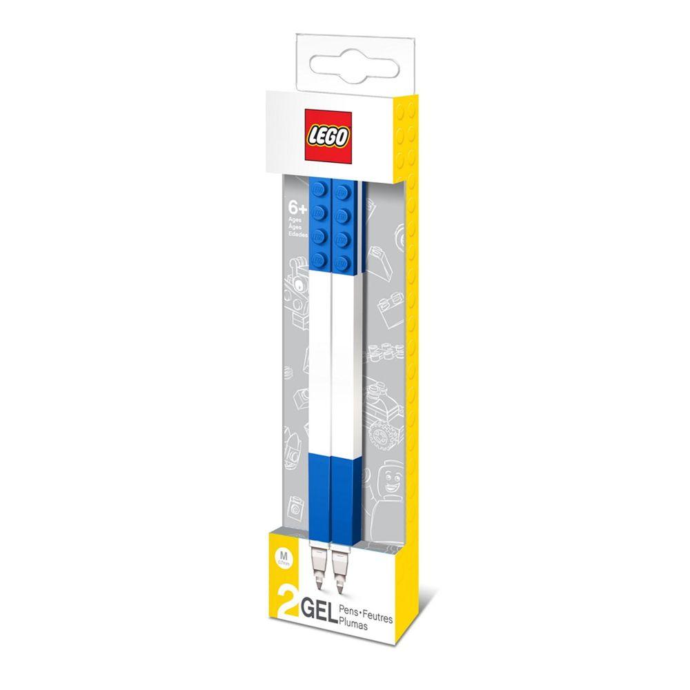 樂高 LEGO - LEGO積木原子筆-藍色 (2入)-長15.8公分