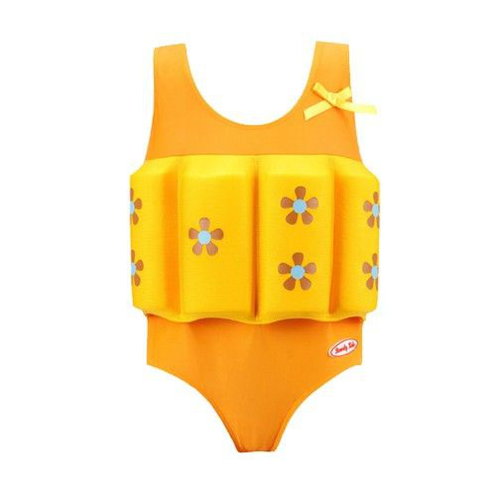 德國 BeverlyKids - 浮力泳衣-三角褲版-Sunrise 晨光少女